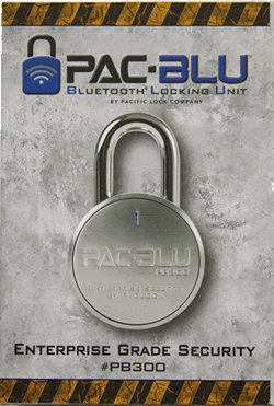 PAC-BLU Bluetooth Locks